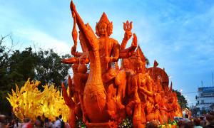 International Wax Sculpture and Candle Procession Festival