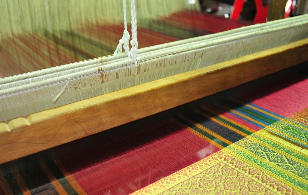 Foto: Turismo de Tailandia- Telar de seda