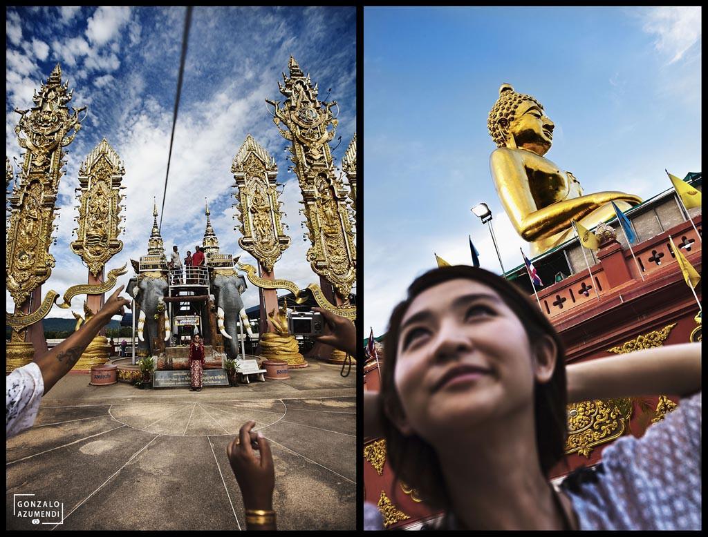 Sop Ruak Temple. Golden Triangle. Chiang Saen. Chiang Rai province. Thailand.