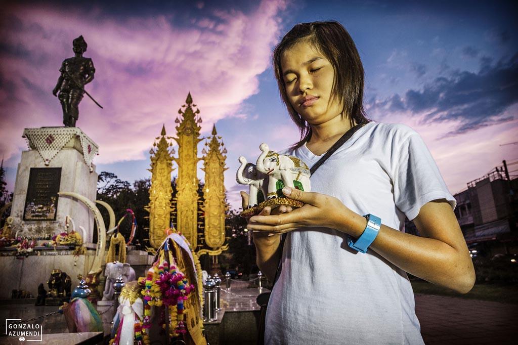 El Blog de Tailandia- Estatua del Rey Mangrai