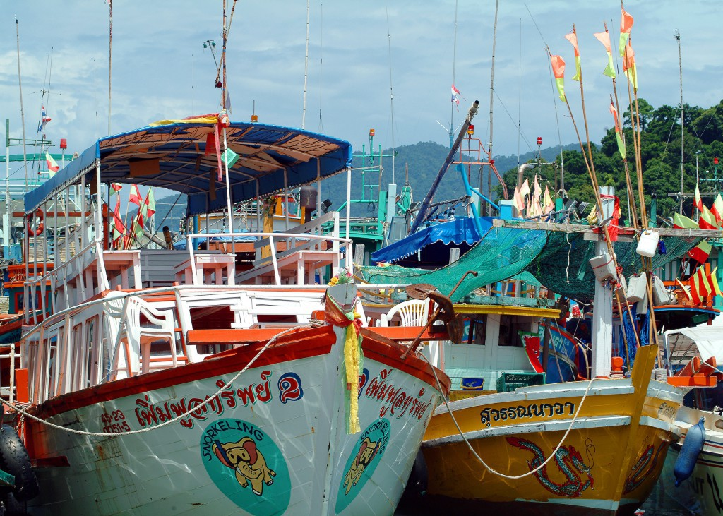 Foto: Turismo de Tailandia / Puerto de Bang Bao