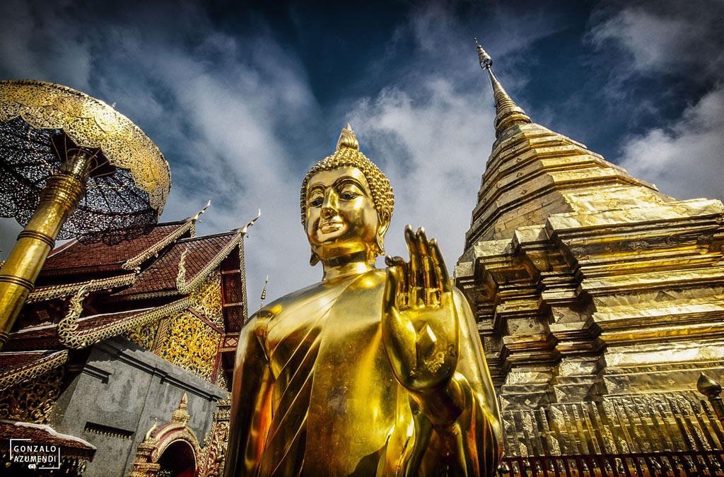 Wat Phra That Doi Suthep. Provincia de Chiang Mai. TAILANDIA.