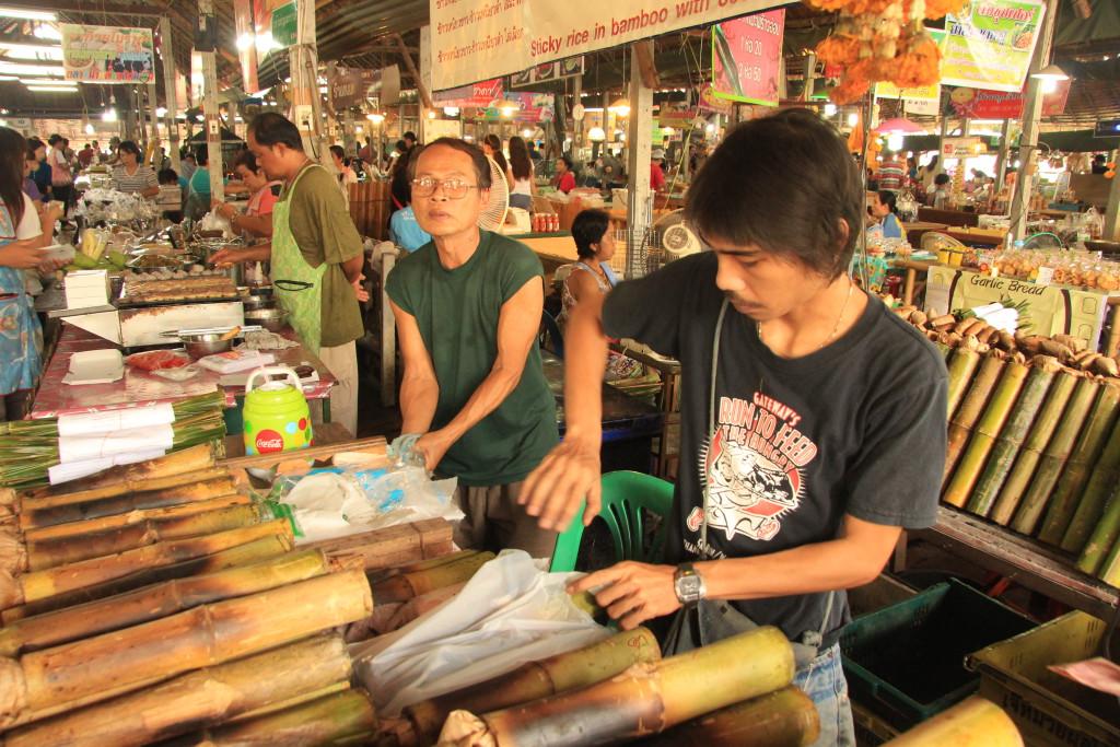 Foto: Turismo de Tailandia / Mercado típico de Bangkok
