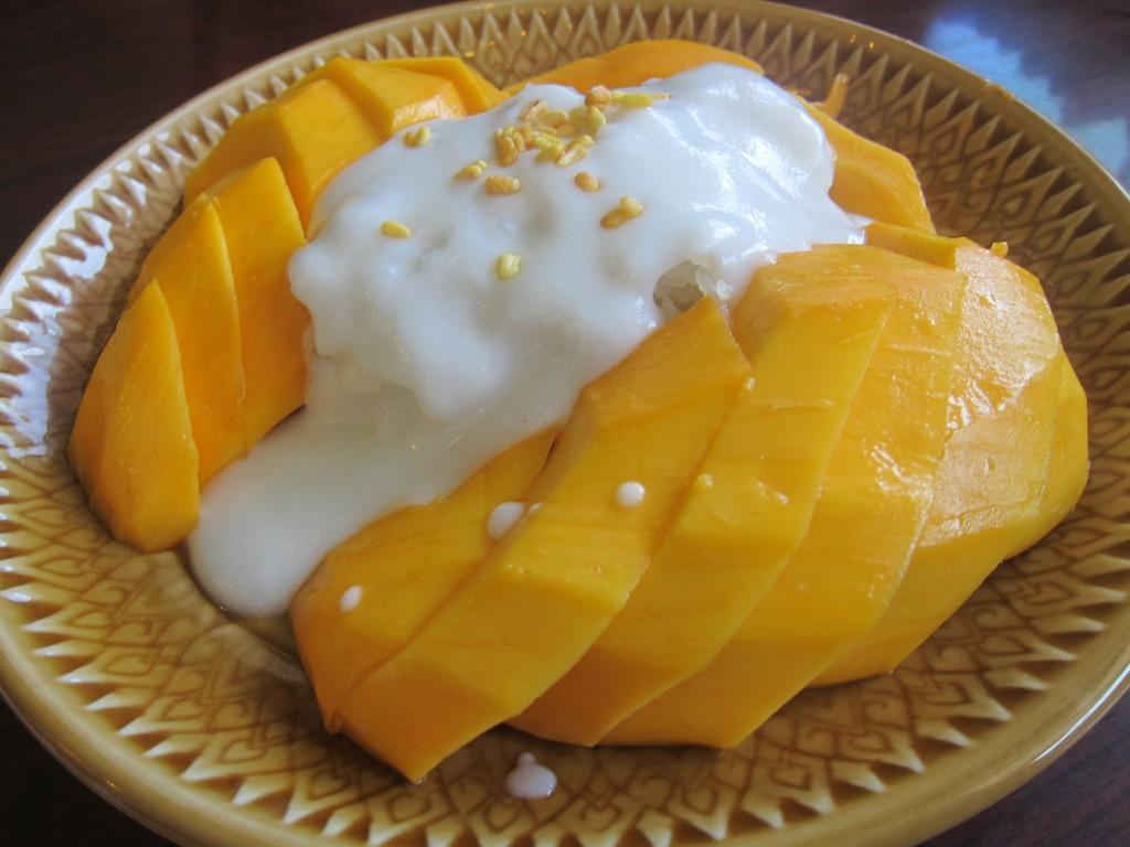 Foto: Sticky rice con mango - Bangkokspa.es