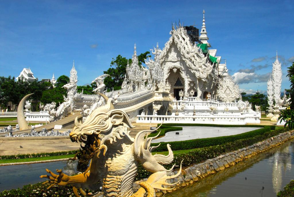 Foto: Pedro Madera / Templo Blanco Chiang Rai