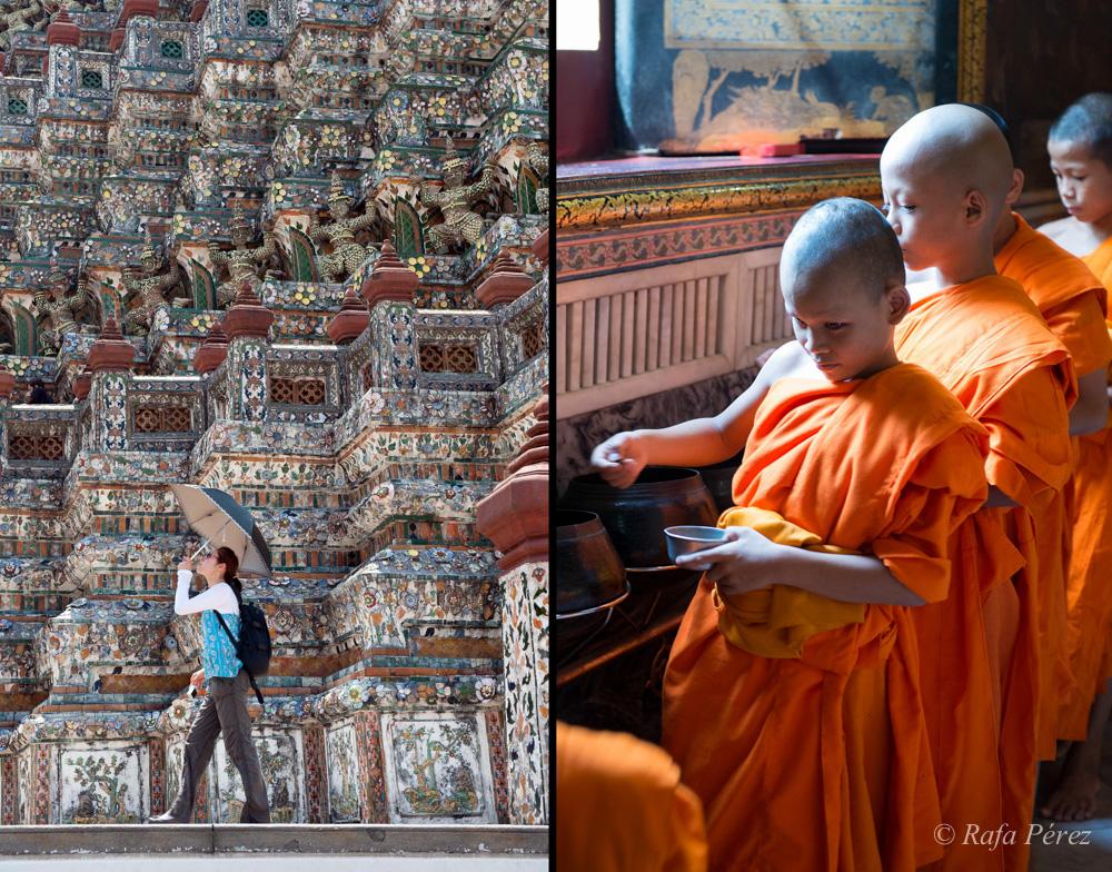 Foto: Rafa Pérez/ Wat Arun y Wat Po