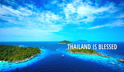 thailand is blessed