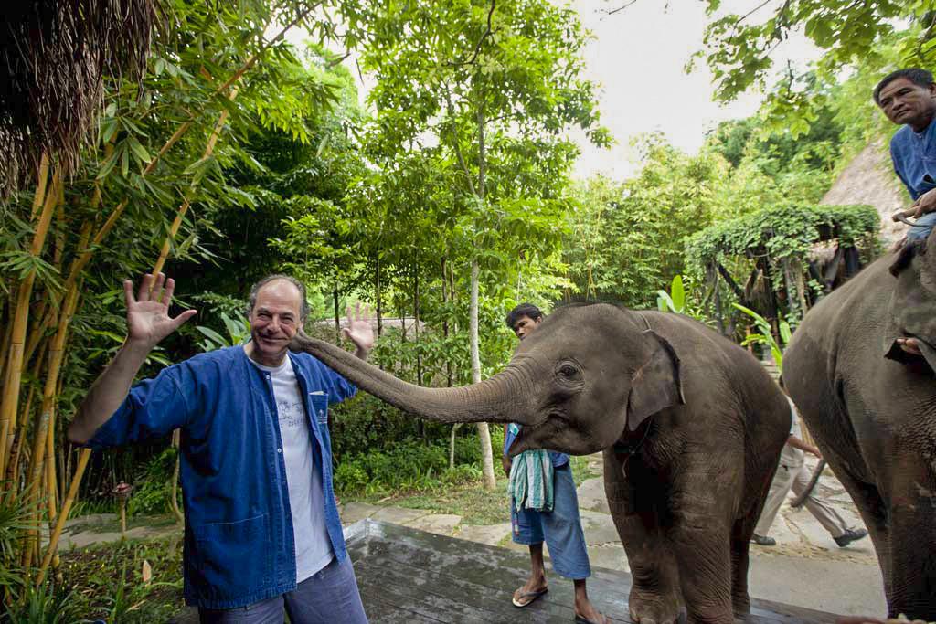 El Blog de Tailandia 00-Beso elefante en Tailandia