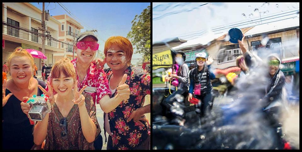 Gonzalo en Songkran 2015