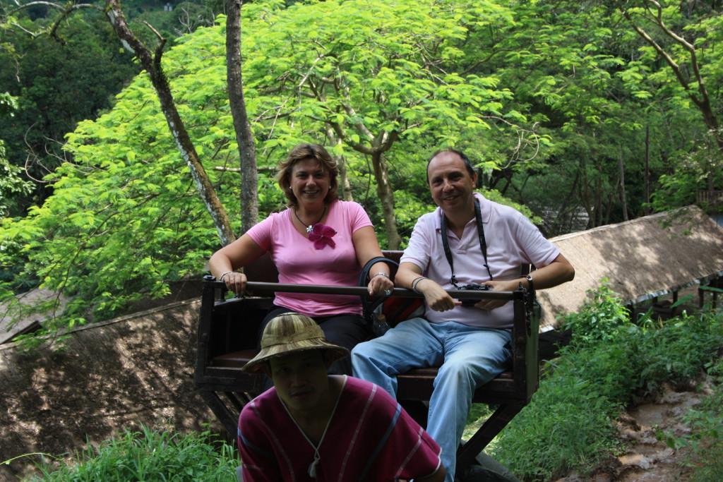 Con Lola en Chiang Mai