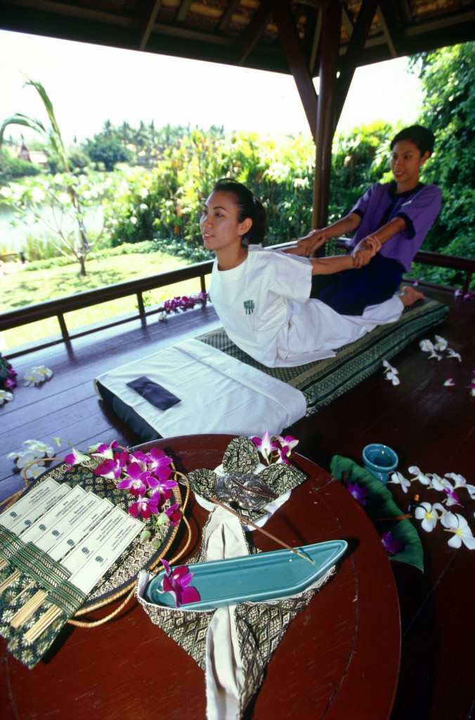 Turismo de Tailandia - Masaje tradicional thai