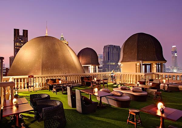 "El vanguardista rooftop ""Speakeasy"" del hotel Muse Bangkok"