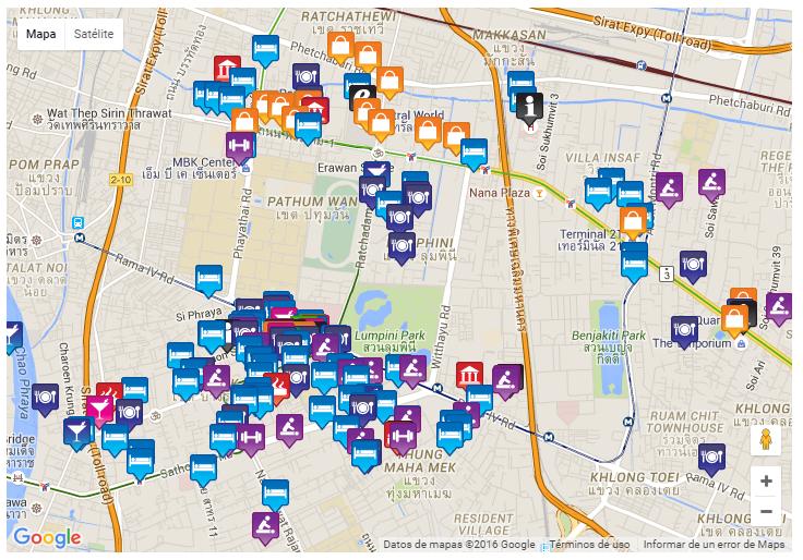 Blog Tailandia - Bangkok Gay Map