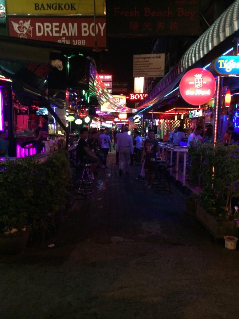 Blog de Tailandia - Patpong area