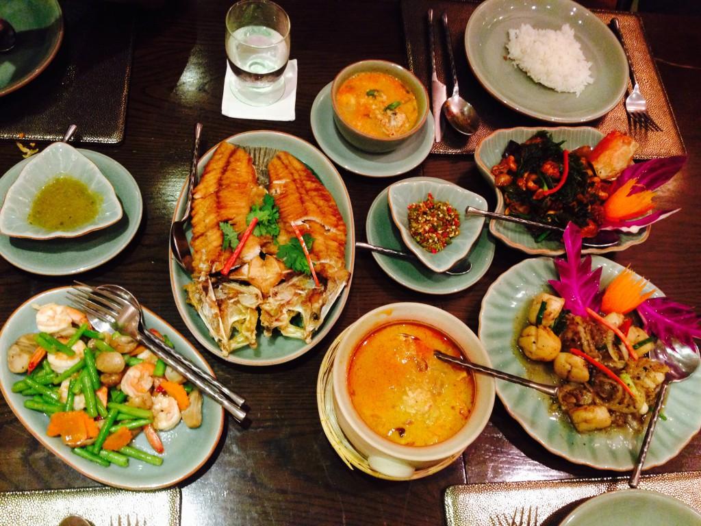 El Blog de Tailandia - A la mesa Foto DAB