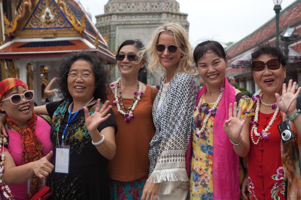 El Blog de Tailandia-María con thais