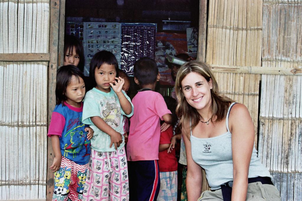 En su primer viaje a Tailandia