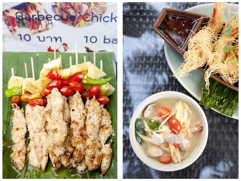 Gastronomía Thai