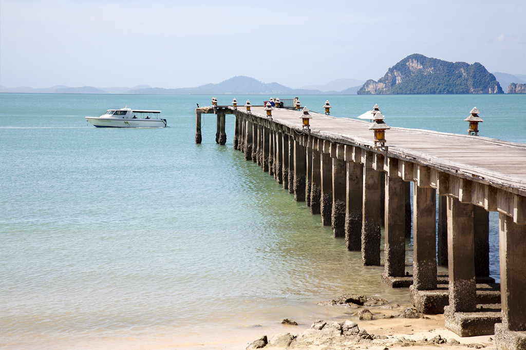 Embarcadero de Santhiya en Yao Yai