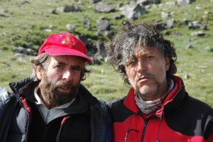 Con César Pérez de Tudela