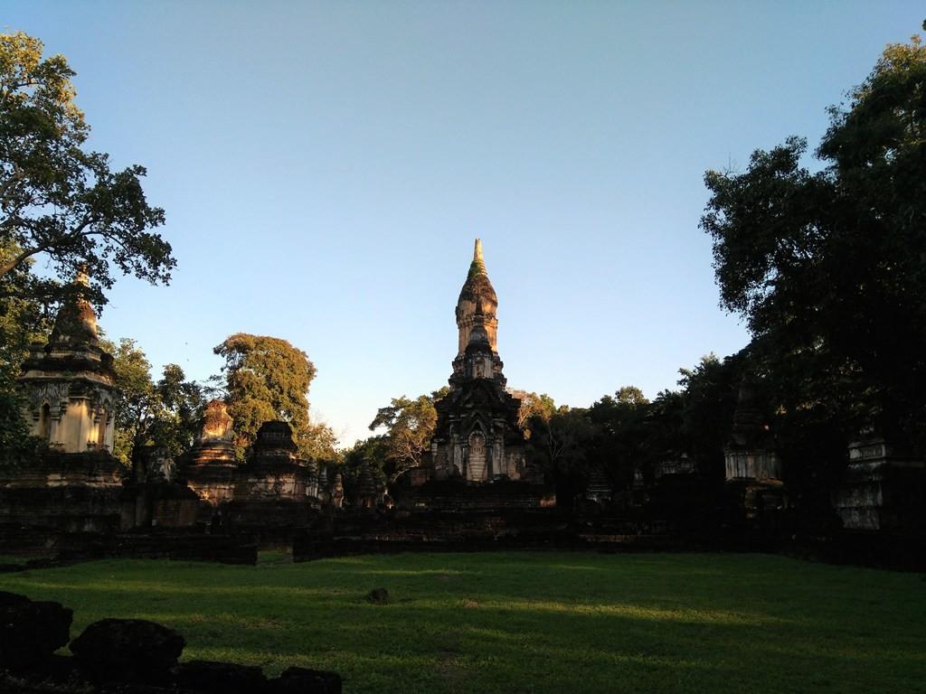 Wat Chedi Chet Thaeo -paraíso-