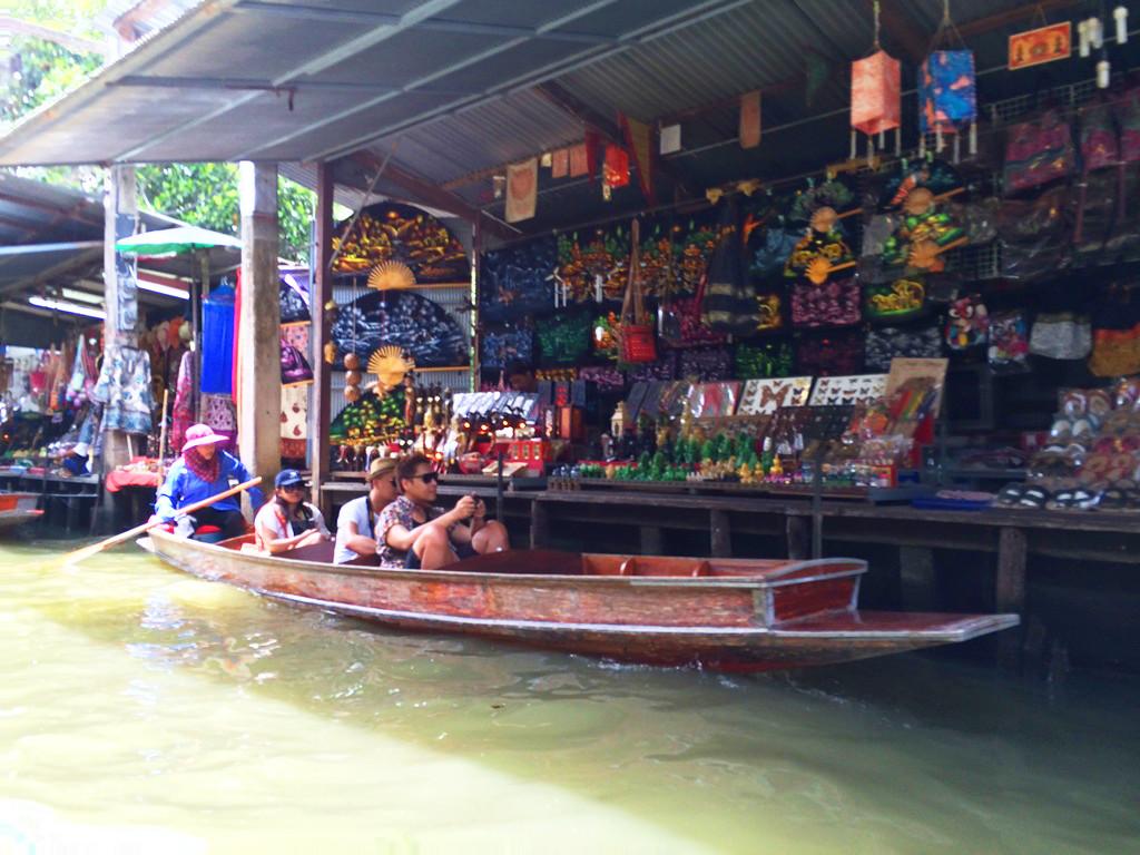 El Blog de Tailandia - Mercado flotante