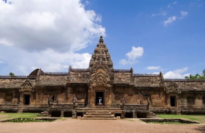 Phanom Rung Sanctuary in Phanom Rung Historical Park, Buri Rum