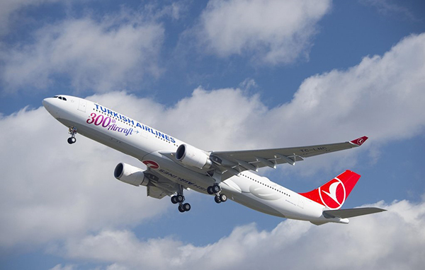 Turkish Airlines vuela a Bangkok
