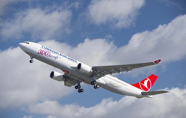 Turkish Airlines vuela a Bangkok