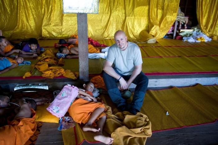 El Blog de Tailandia-Rafa Pérez en monasterio budista_