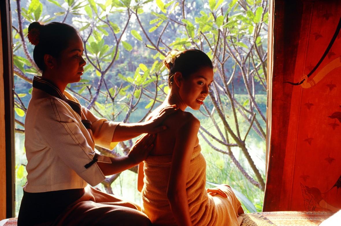 Masaje tradicional Foto Turismode Tailandia