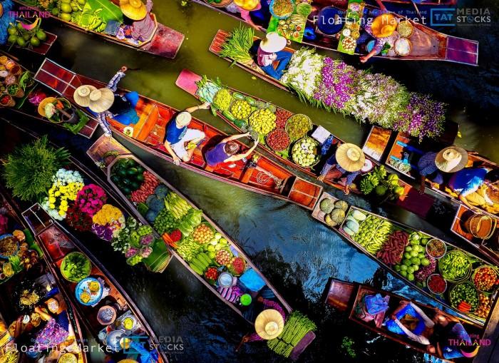 Turismo de Tailandia_Floating Market