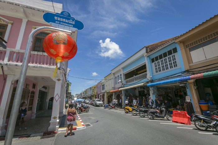 Turismo de Tailandia_Sino-Portuguese Building, The Old BTownuliding in Phuket Old Town, Phuket