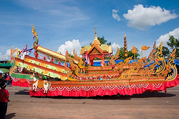 Festival Yasothon Bun Bang Fai 2018