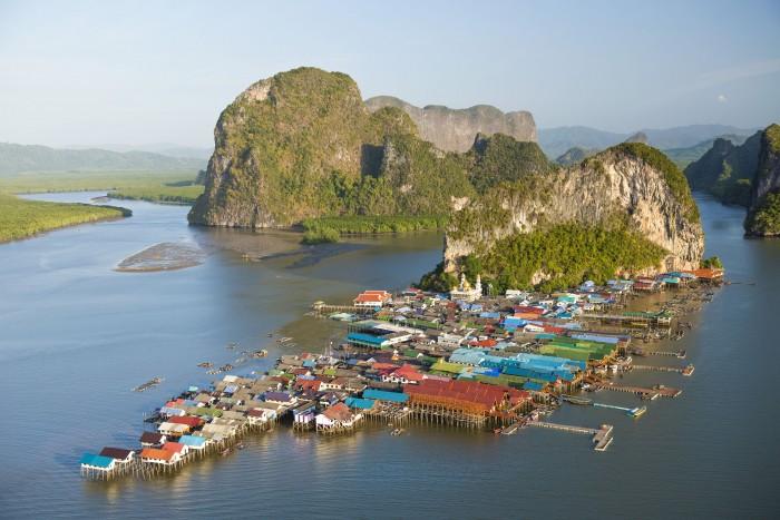 Turismo de Tailandia_Panyi Island of Phang-Nga Bay National Marine Park, Phang-Nga