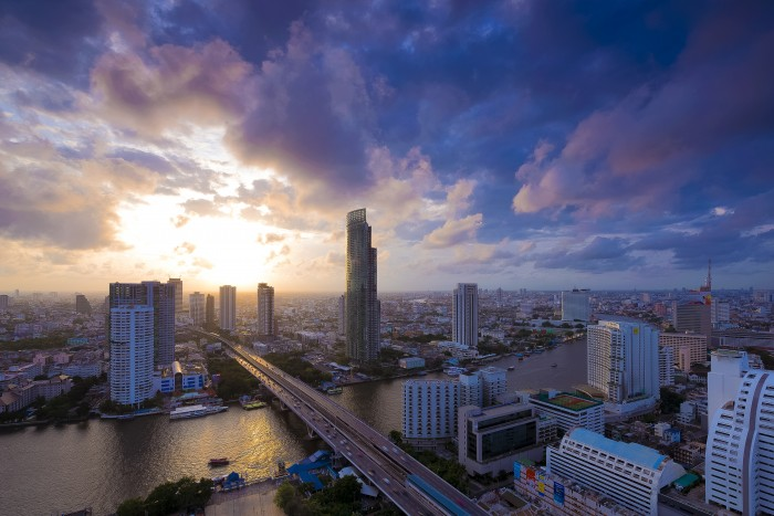 Turismo de Tailandia_ Aerial Photograph at Bangkok, Bangkok