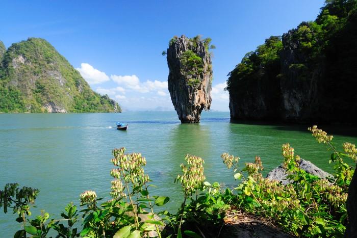 Turismo de Tailandia_Khao Tapu of Phang-Nga Bay National Marine Park, Phang-Nga