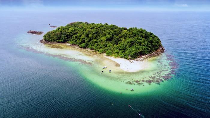 Turismo de Tailandia_Rayong - Ko Thalu (เกาะทะลุ) 0032PS[P]