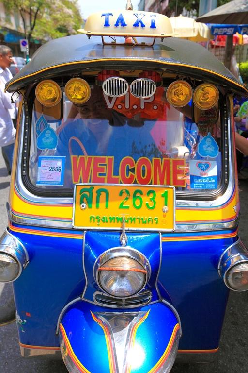 Turismo de Tailandia _ Tuk Tuk