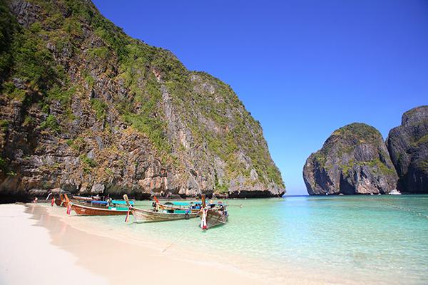 Tailandia anuncia el proyecto de rejuvenecimiento de la famosa Maya Bay