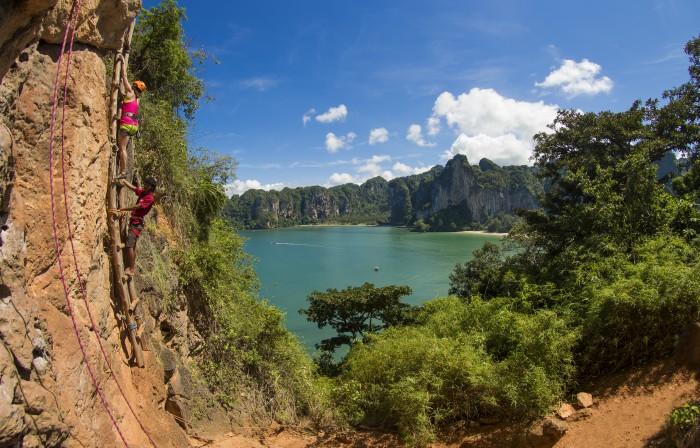Turismo de Tailandia_Tailandia Escalada Playa Railay 047