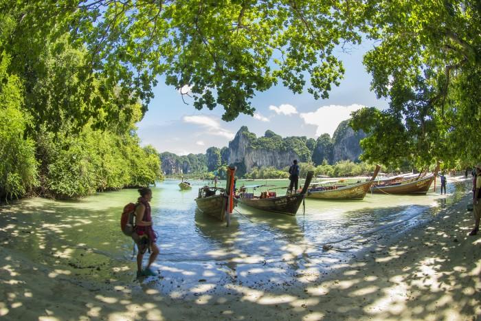 Turismo de Tailandia_Tailandia Escalada Playa Railay 051