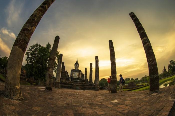 Turismo de Tailandia_Tailandia Parque Histórico de Sukhothai 34