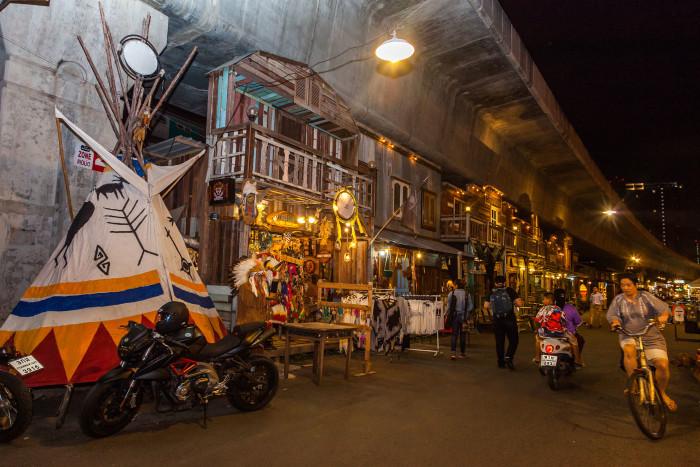 Turismo de Tailandia_Siam Gypsy Junction is Night Markets, Bangkok