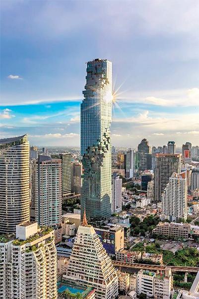 Mahanakhon SkyWalk abrirá para el público en octubre