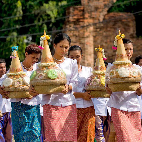Festival del 10º mes lunar. Tailandia