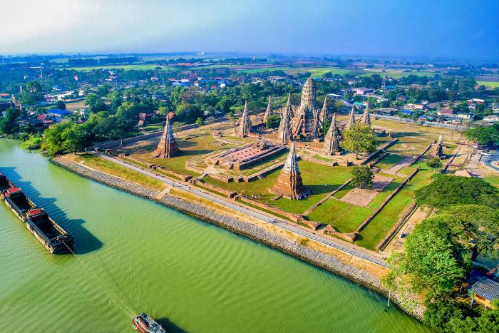 Turismo de Taiandia_Ayutthaya-Wat Chaiwatthanaram
