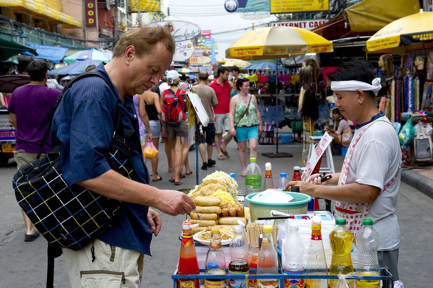 Thai Street Food at Khao San Road, Bangkok