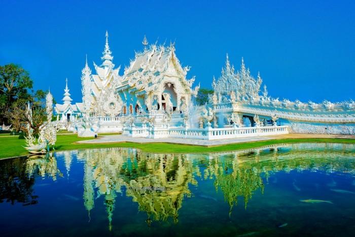 Turismo de Tailandia_Rong Khun Temple, Chiang Rai
