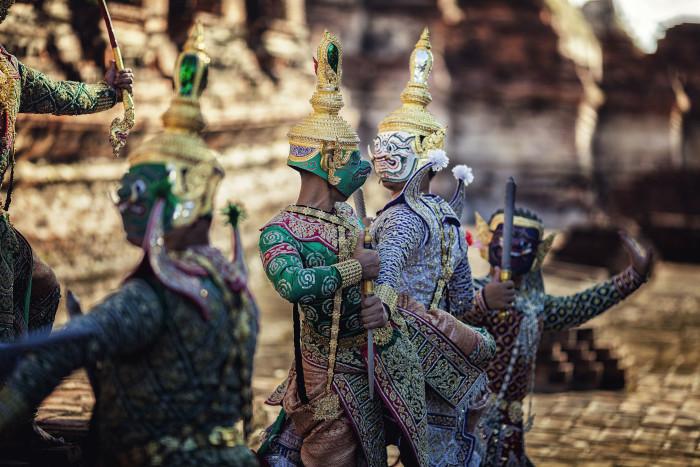 Turismo de Tailandia_Khon - Dance Drama [P] (1)_
